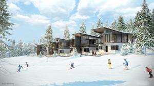 Stellar Residence Rendering skiing